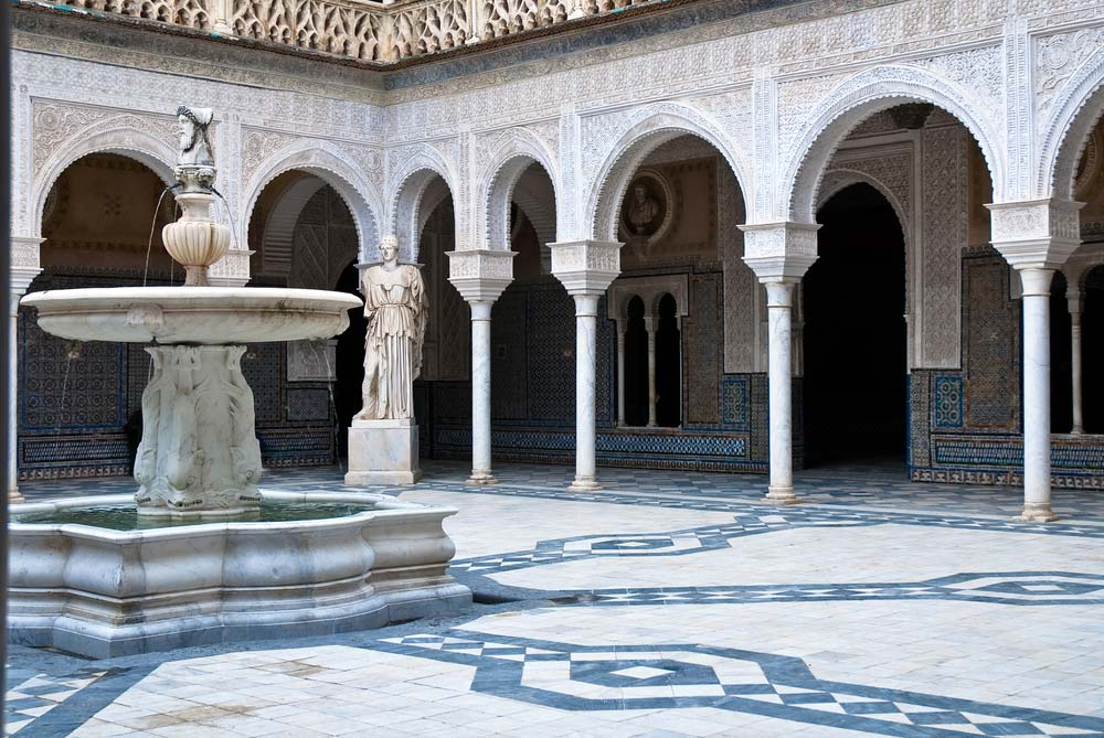 Patio de Casa de Pilatos (Sevilla)