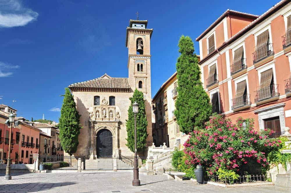 Iglesia Santa Ana en Plaza Nueva, Granada