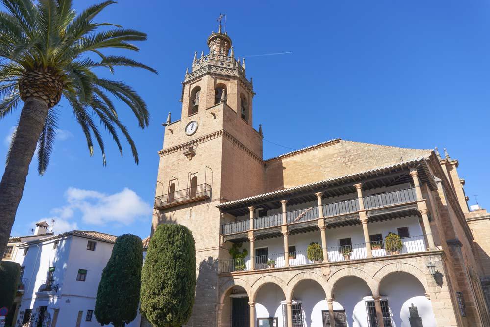 Iglesia Santa María la Mayor en Ronda, Málaga
