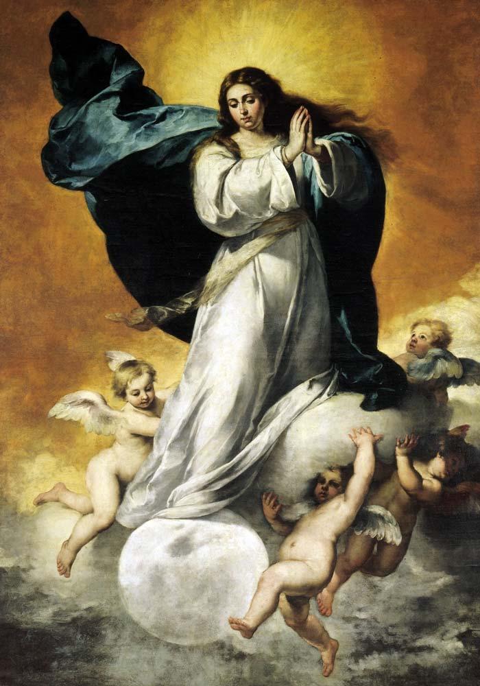 Inmaculada Colosal de Bartolomé Esteban Murillo - Museo de Bellas Artes de Sevilla