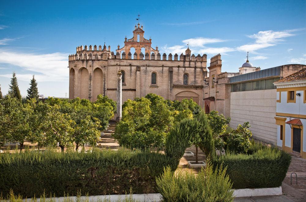 Monasterio San Isidoro del Campo en Santiponce (Sevilla)