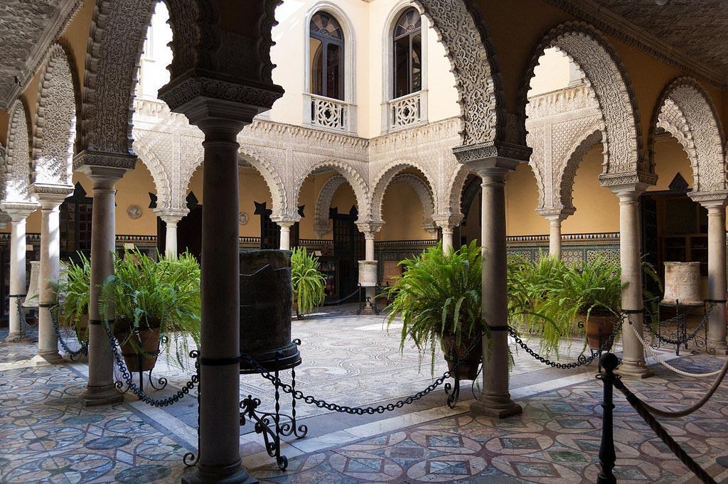 Patio en Palacio de Lebrija en Sevilla