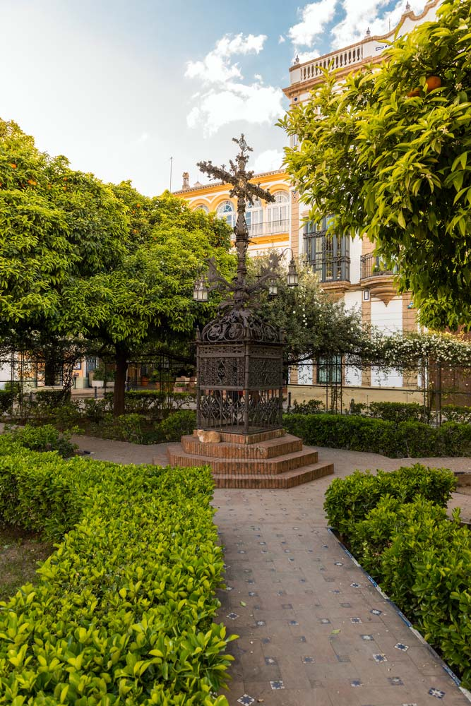 Plaza Santa Cruz (Sevilla)