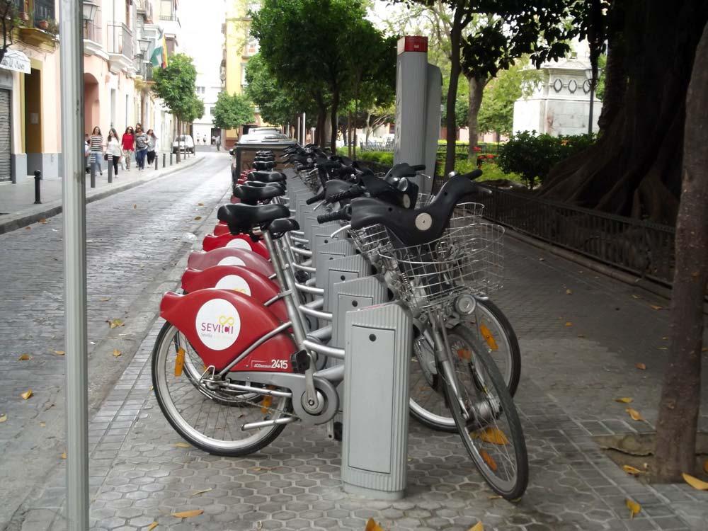 Bicicletas del Ayuntamiento de Sevilla